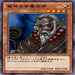 厳格な老魔術師